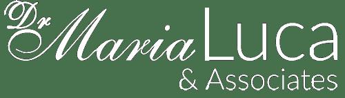 Dr Maria Luca & Associates Logo - White